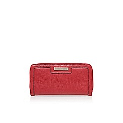 Nine West - Red 'Table treasures zip' clutch bag