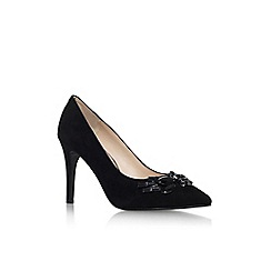 Nine West - Black 'No top it off' high heel court shoe