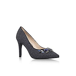 Nine West - Grey 'Notopitoff2' high heel court shoe