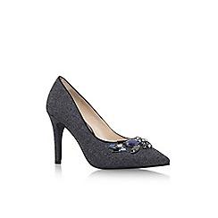 Nine West - Grey 'Notopitoff2' high heel court shoe