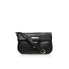 Nine West - Black 'In the loop saddle' handbag with strap