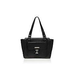 Nine West - Black 'In the loop satchel' large handbag