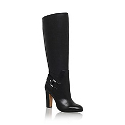 Vince Camuto - Black 'cheree' high heel knee high boot