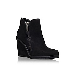 Vince Camuto - Black 'Jeffers' wedge heel ankle boot