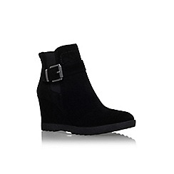Vince Camuto - Black 'Landri' high wedge heel ankle boots