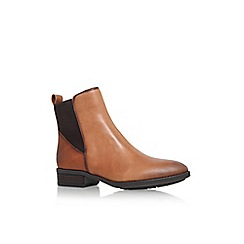 Vince Camuto - Brown 'Ponce' low heel ankle boot