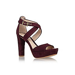 Vince Camuto - Red 'Shayla' high heel sandal