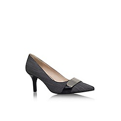 Nine West - Grey 'Nw7allright2' high heel court shoe