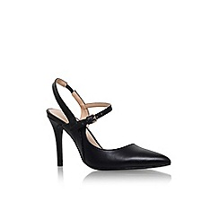 Nine West - Black 'Nw7fairlee3' high heel slingback court shoe
