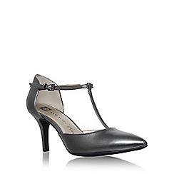 Anne Klein - Metal 'Yatima' high heel t strap sandal