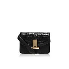 Carvela - Black 'Cyra lock x body' small shoulder bag