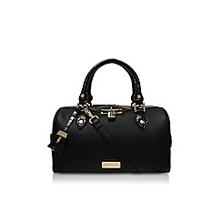 Carvela - Black/comb 'Cade barrel bag' handbag
