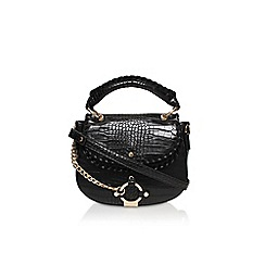 Carvela - Black 'Char saddle bag' handbag