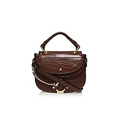 Carvela - Tan 'Char saddle bag' handbag