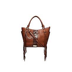 Carvela - Tan 'Cesca fringe tote' handbag
