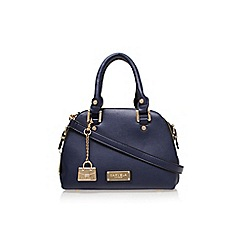 Carvela - Mid Blue 'Calise domed mini bag' handbag
