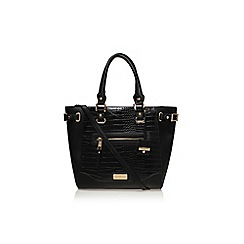 Carvela - Black 'Clara city tote' handbag