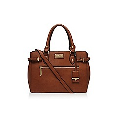 Carvela - Tan 'Cala double zip tote' handbag