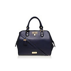 Carvela - Mid blue 'Claire winged tote' handbag