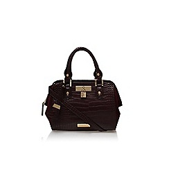 Carvela - Wine 'Circe mini winged bag' handbag