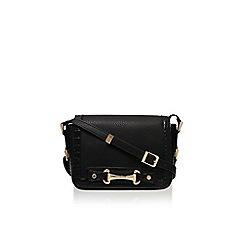 Carvela - Chuma snaffle x body black medium handbag with shoulder strap