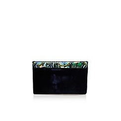 KG Kurt Geiger - Blue 'Hoxton butterfly clutch' handbag with chain