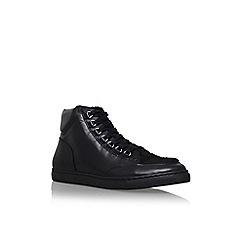 KG Kurt Geiger - Black 'Brickerz' high top sneaker