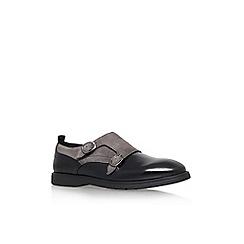 KG Kurt Geiger - Black 'Barton' flat monk shoe