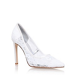 Nine West - Brown Tatiana 2 high heel court shoes
