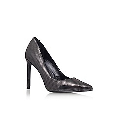 Nine West - Pewter 'Tatiana2' high heel court shoe