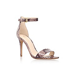 Nine West - Brown 'mana3' high heel sandal