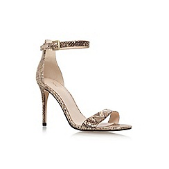 Nine West - Gold 'Mana' high heel sandals