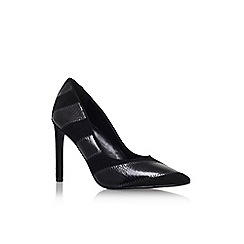 Nine West - Black 'Tictok' high heel court shoe