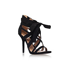 Nine West - Black 'Rustic2' high heel sandal
