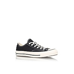 Converse - Black 'Ctas 70s core lo' low top sneaker