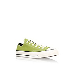 Converse - Green 'Ctas 70s les colour lo' low top sneaker