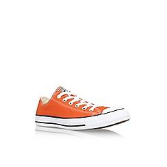 Converse - Orange 'Ctas seasonal lo' low top sneaker