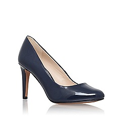 Nine West - Blue 'Handjive3' high heel court shoes
