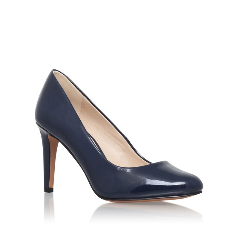 Nine West Blue Handjive3 high heel court shoes