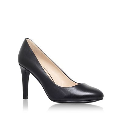 Nine West Black Handjive high heel court shoe
