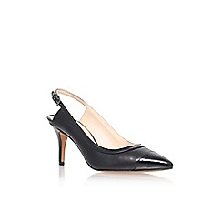 Nine West - Black 'kasai' low heel slingback