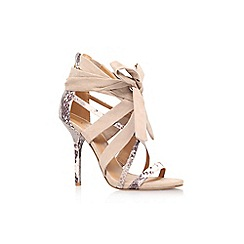 Nine West - Brown 'rustic2' high heel sandal