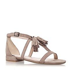 Nine West - Beige 'Weslia' flat sandal