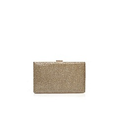 Nine West - Gold 'Ismay' small clutch bag with shoulder chain