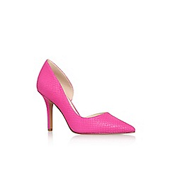 Nine West - Pink 'jia' high heel court shoe