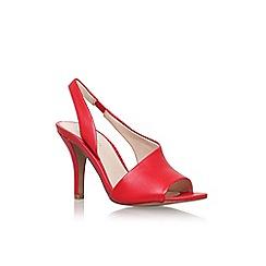 Nine West - Red 'Ballad3' high heel sandal