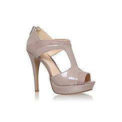 Nine West - Grey 'nw7downtown8' high heel sandals