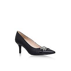 Nine West - Black 'Nw7arnull3' high heel court shoe