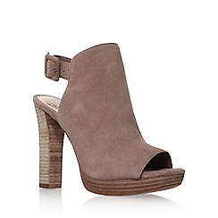 Vince Camuto - Brown 'Gilsa' high heel shoe boot