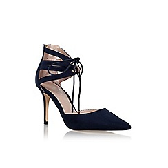 Carvela - Blue 'Krisp' high heel lace up court